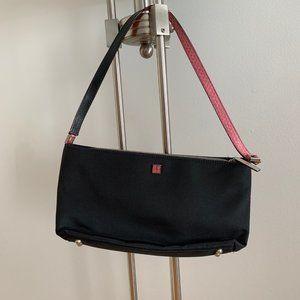 Vintage Kate Spade Baguette Bag with Croc Handle